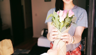 Kwiaty na pierwsze spotkanie